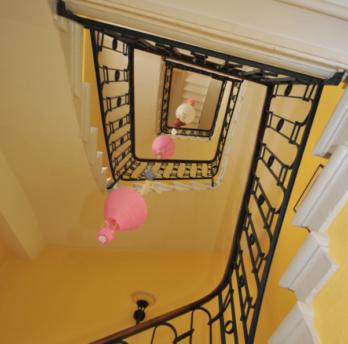 La Terrasse - escalier